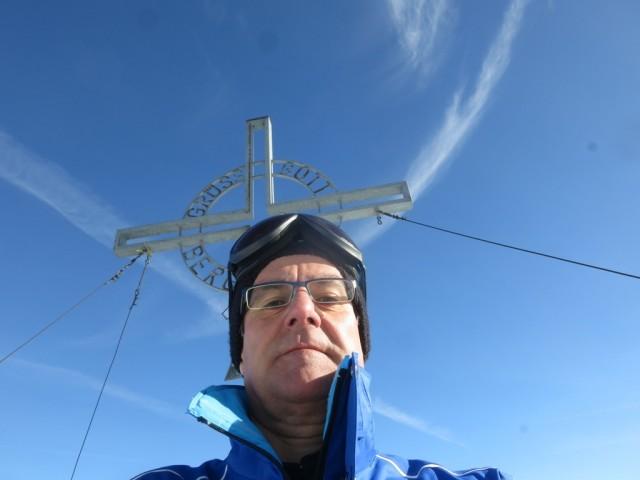 auf dem Gipfel der Grünbergspitze, 2.790m