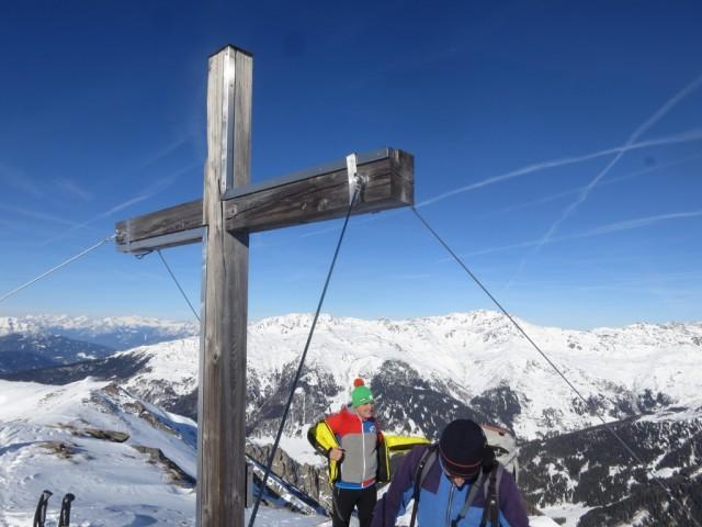 Gipfel der Scheibenspitze, 2.489m