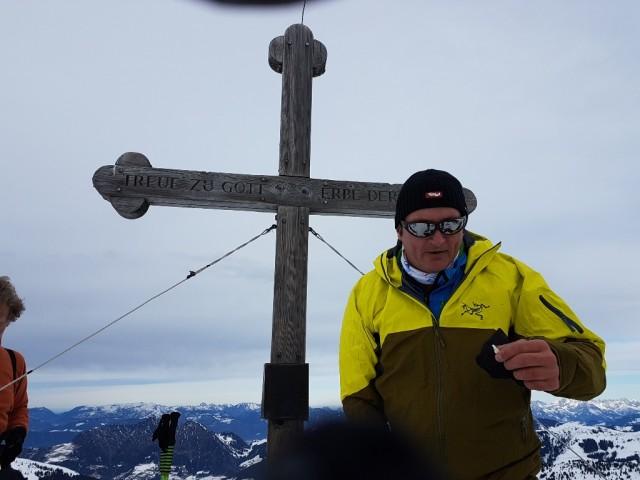 Stefan am Gamskopf, 2.205m
