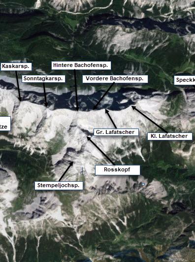 Gleirsch-Halltal-Kette Mitte